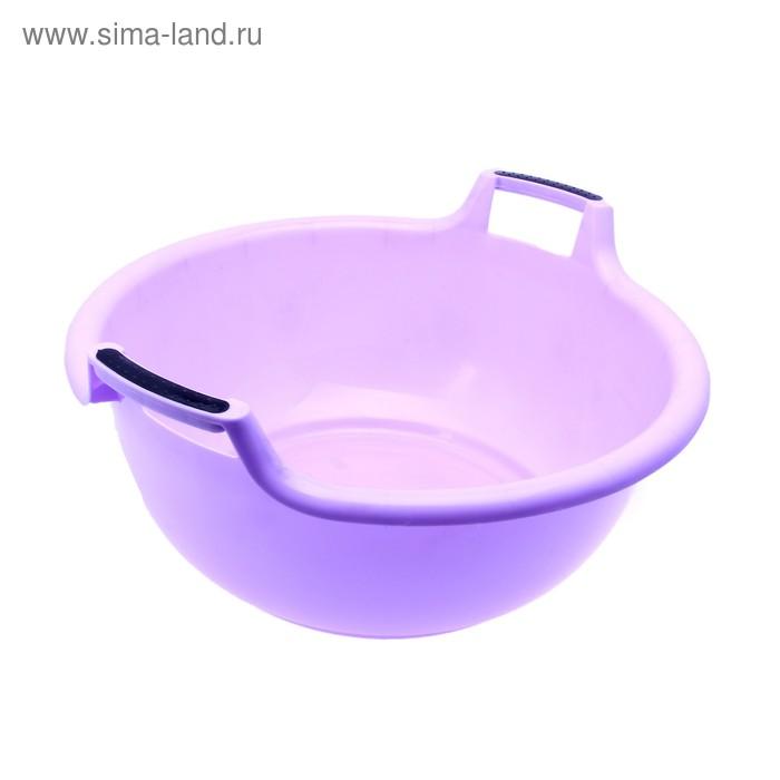 "Таз пластиковый 22 л ""Альфа"", цвет лаванда"
