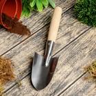 Совок посадочный, длина 35 см, деревянная ручка