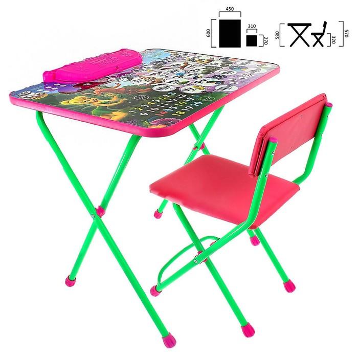 Набор детской мебели «Дисней 2. Феи: Азбука»: стол, стул