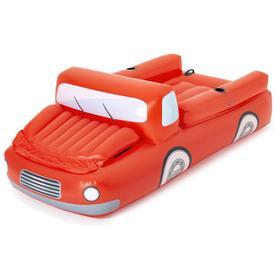 Плотик для плавания «Красный грузовик», 280 х 149 см, 43192 Bestway