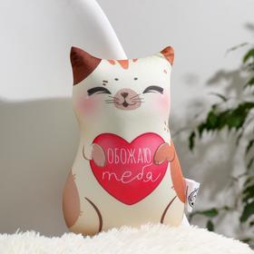 Игрушка антистресс «Обожаю тебя», кот