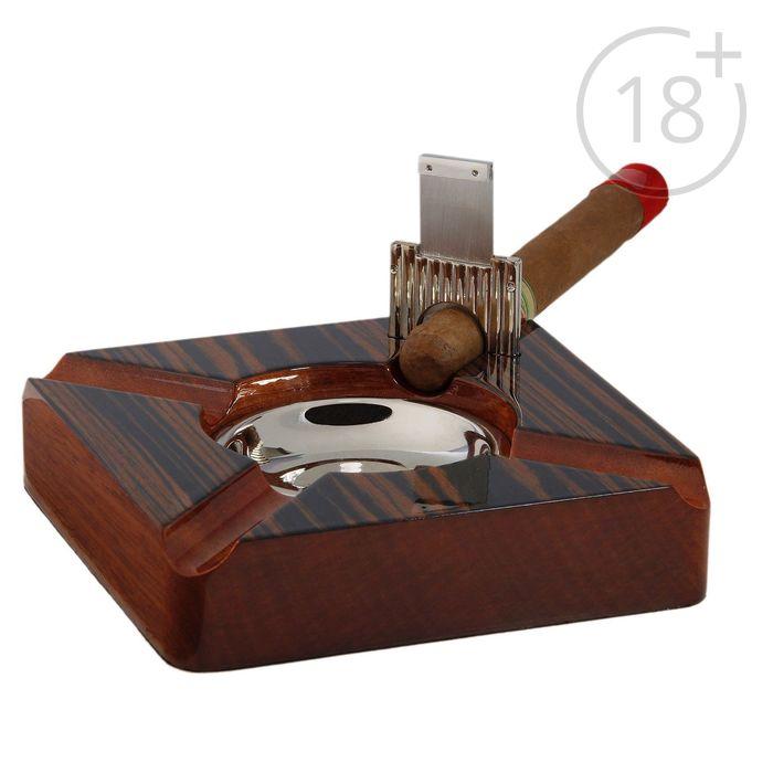 Пепельница для сигар California с гильотиной