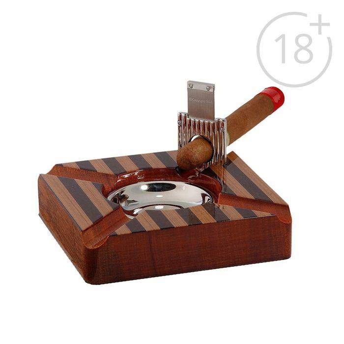 Пепельница для сигар Ghana с гильотиной