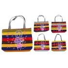 """Женская летняя сумка """"Девчонка"""", замок-молния, на подкладе, внутренний карман, цвета МИКС"""
