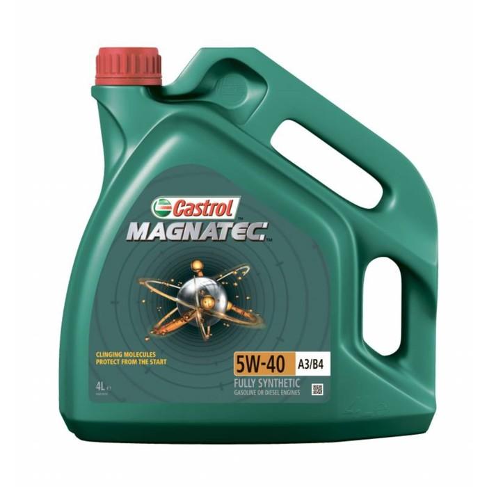 Моторное масло Castrol Magnatec SAE 5W-40 A3/B4, 4 л