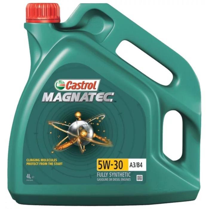 Моторное масло Castrol Magnatec SAE 5W-30 А3/В4, 4 л