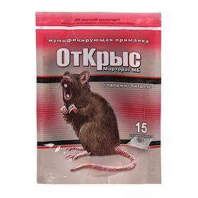Приманка мумифицирующая ОтКрыс, 15 доз, 150 г
