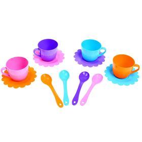 Набор посуды «Ромашка», на 4 персоны, цвета МИКС