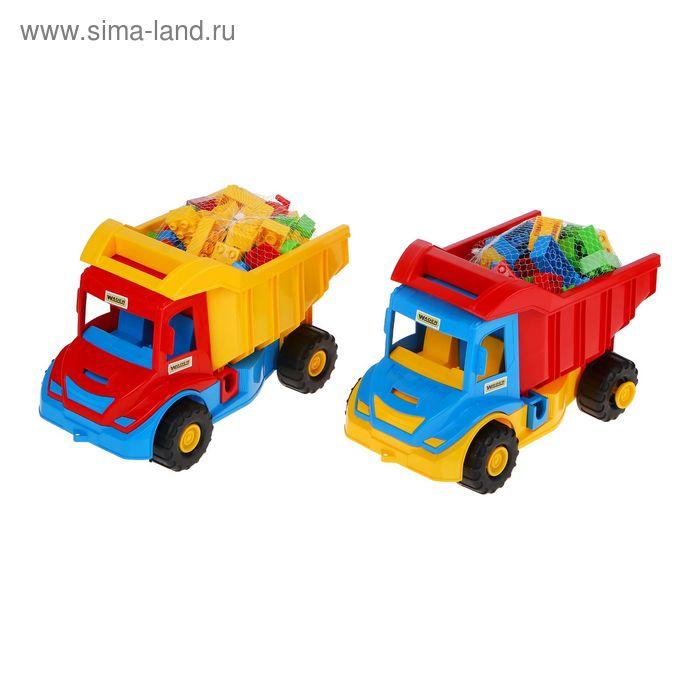 "Грузовик с конструктором ""Multi truck"", цвета МИКС"