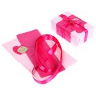 "Набор для упаковки подарка ""Фламинго"" (бумага упаковочная+декор)"