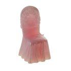 """Свеча восковая """"Праздничный стул"""", цвет розовый"""