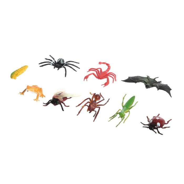 Набор животных насекомых «Природа», МИКС