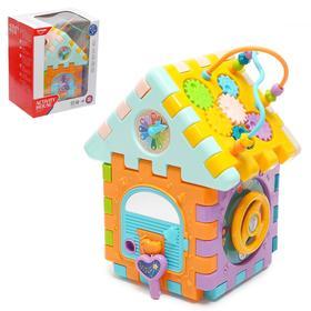 """Развивающая игрушка """"Бизи домик"""", с сортером"""