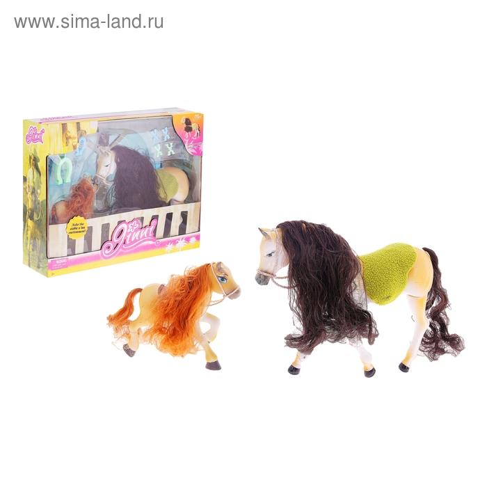 "Лошадка ""Джинни"" с пони и аксессуарами"