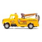 Машина инерционная «Пожарная команда», цвета МИКС - фото 106531446