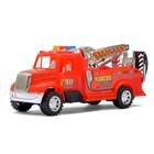 Машина инерционная «Пожарная команда», цвета МИКС - фото 106531448