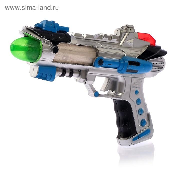 """Пистолет """"Бластер"""", работает от батареек, световые и звуковые эффекты"""