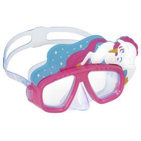 Маска для плавания Lil Animal, от 3 лет, цвета микс, 22064 Bestway