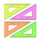 Треугольник 23 см 30* «Стамм» NEON Cristal, микс