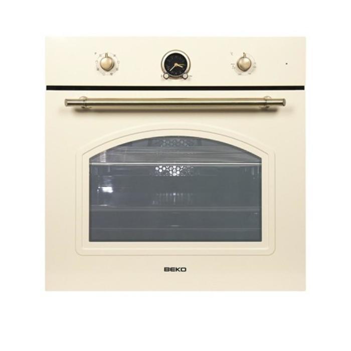 Духовой шкаф Beko OIM 27201 C-POL, электрический, 71 л, класс А, гриль, кремовый