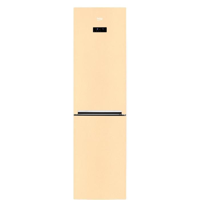 Холодильник Beko CNKR 5335 E20SB, двухкамерный, класс А+, 335 л, NoFrost, бежевый