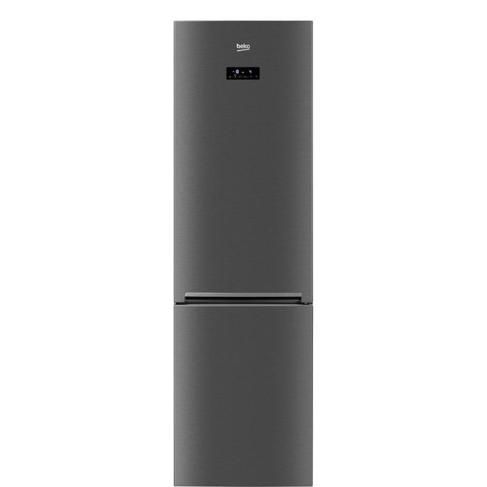 Холодильник Beko CNKR 5356 E20X, двухкамерный, класс А+, 356 л, NoFrost, нержавеющая сталь