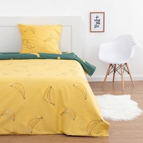 Постельное бельё 1.5 сп LoveLife «Банановый рай», 143х215 см,150х214 см,70х70 см-1 шт