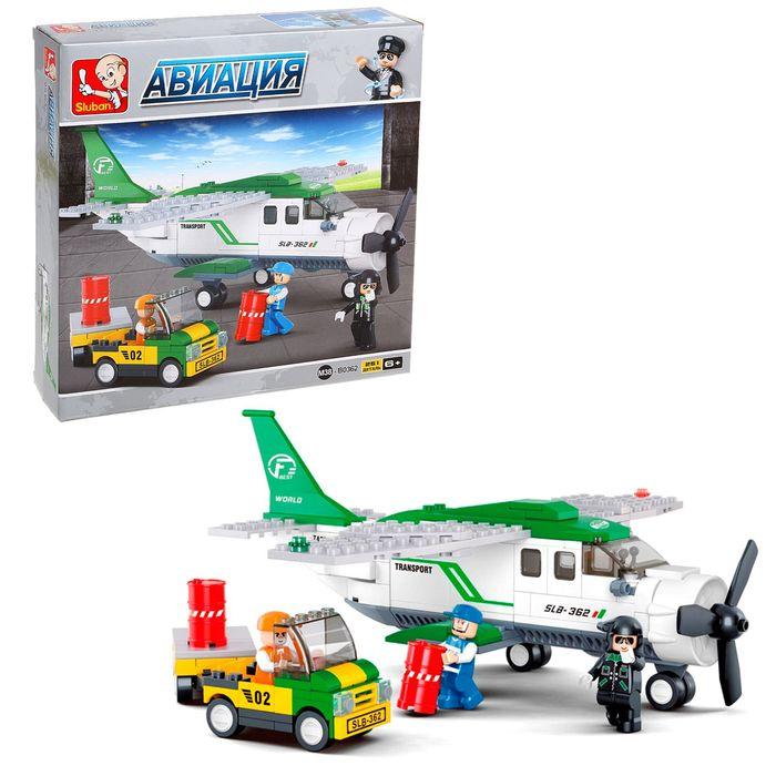 Конструктор «Транспортный самолёт», 251 деталь