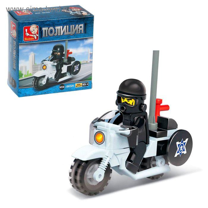 Конструктор «Военная полиция: Мотоциклист», 24 детали