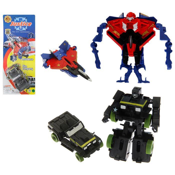 Робот-трансформер, набор 2 штуки