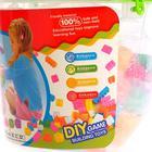 Конструктор для малышей «Забавные зверята», в ведре, 84 детали, цвета МИКС - фото 106531495