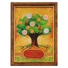 """Денежное дерево в рамке """"Благосостояния и удачи маме"""""""