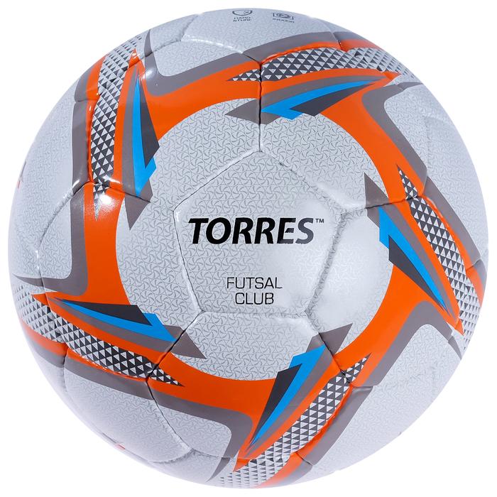 Мяч футзальный Torres Futsal Club, F30384/F30064, размер 4