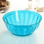 """Салатник 24 см """"Сладкий лед"""", 2,5 л, цвет голубой"""