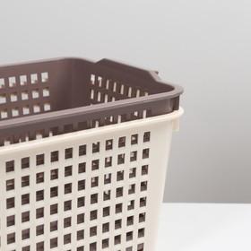 Корзина для хранения, 19×14×27 см, цвет МИКС