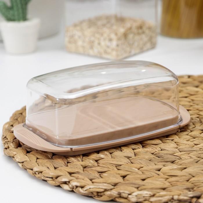 Маслёнка «Классика», цвет МИКС