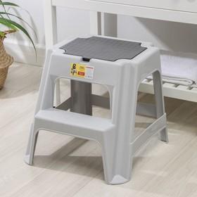 Табурет со ступенькой и ящиком «Вольф», цвет МИКС
