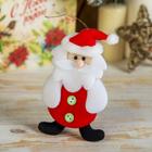 """Мягкая игрушка """"Толстячок Дед Мороз"""""""