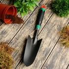 Совок посадочный, длина 36 см, ширина 8 см, пластиковая ручка