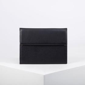 Папка деловая, цвет чёрный