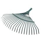 Грабли веерные, проволочные, 22 зубца, металл, тулейка 25 мм, без черенка