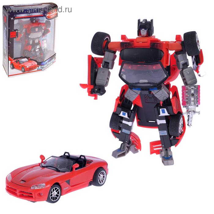 Робот-трансформер «Машина»