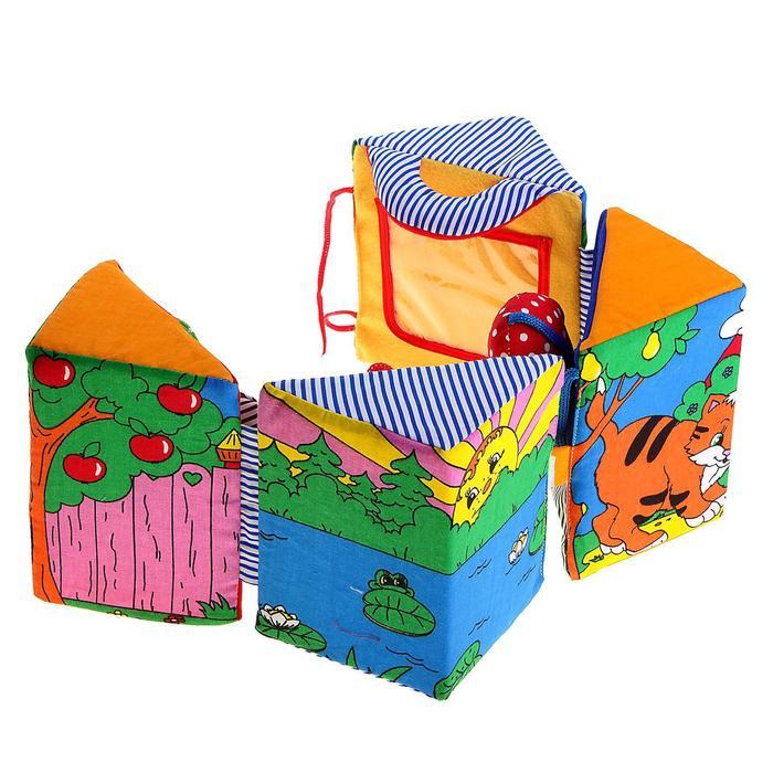 Развивающая игрушка «Куб-раскрывашка»
