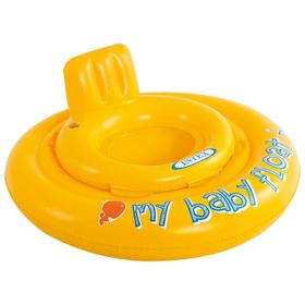 Круг для плавания My baby float, с сиденьем, d=70 см, от 6-12 месяцев, 56585NP INTEX