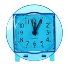 "Alarm clock ""Circle"", transparent, d=9 cm mix"