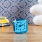 Alarm clock Rectangle, 7x6.5 cm mix