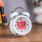 """Alarm clock """"Heart in a box"""", d=8 cm, mix"""