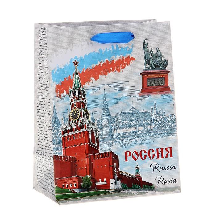 """Пакет подарочный MS """"Россия"""""""