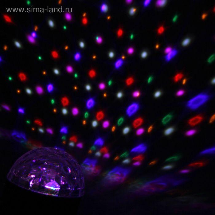 Световой прибор магический шар, диаметр 20 см, без музыки V220