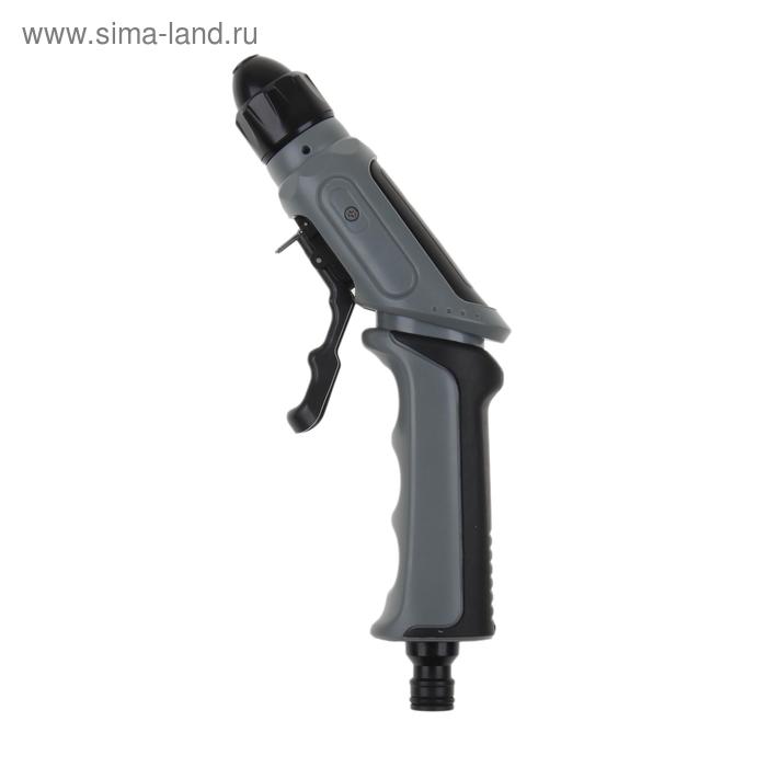 """Набор: пистолет-распылитель, коннектор, коннектор с аквастоп 1/2"""", адаптер 1/2""""-3/4"""""""